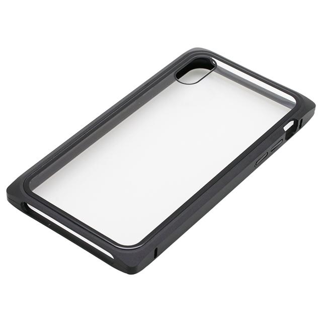 iPhone XS/X用 マグネットアルミバンパーケース